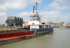 BaggerFrachtschiff Stockfoto