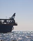 Baggermachine op zee Royalty-vrije Stock Afbeelding