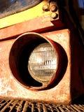 Baggerscheinwerfer Stockbild