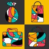 baggies stock illustrationer