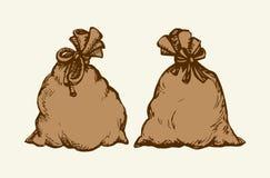 baggies bakgrund som tecknar den blom- gräsvektorn royaltyfri illustrationer