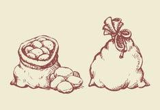 baggies bakgrund som tecknar den blom- gräsvektorn vektor illustrationer
