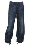 Baggy jeans trousers Stock Images