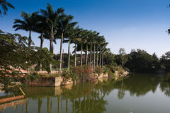 bagh Bangalore uprawia ogródek lal Obrazy Royalty Free