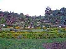 Bagh-e-Bahu公园在查谟&克什米尔 库存照片