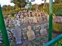 Bagh-e-Bahu公园在查谟&克什米尔 免版税库存图片