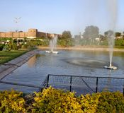 Bagh-e-Bahupark in Jammu u. in Kaschmir Lizenzfreie Stockfotografie