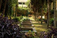 Bagh Negarestan, Baharestan-tuin in Teheran, Iran Royalty-vrije Stock Foto's