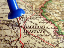 Baghdad. The way we looked at Baghdad in 1949 Royalty Free Stock Photos