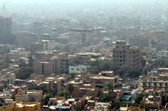 Baghdad cityscape Stock Photography
