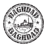 Baghdad grunge rubber stamp Royalty Free Stock Photos