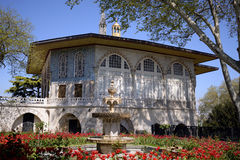Baghdad Kiosk situated in the Topkapi Palace in Istanbul, Turkey. Royalty Free Stock Image