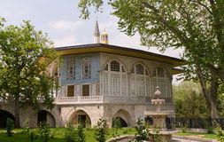 Baghdad Kiosk in the Topkapi palace Stock Image