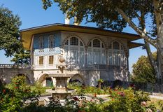 Baghdad Kiosk in the Topkapi palace. Istanbul, Turkey Royalty Free Stock Photo