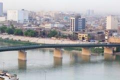 Baghdad at Night Royalty Free Stock Photo