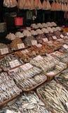 bagiuo torkad fiskmarknad philippines Arkivbilder