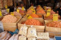 bagkok干食物胡说的虾泰国 图库摄影