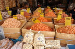 Bagkok, Thailand: Dried Shrimp, Nuts, Foods Stock Photography
