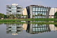 Bagmane-Technologie-Park Lizenzfreie Stockfotografie