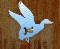 Bagna Przegląda ścianę Zdjęcie Royalty Free
