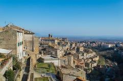 Bagnaia Viterbo, Italien arkivbilder