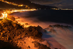Bagnara night. Royalty Free Stock Photography