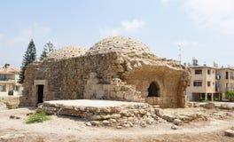 Bagni antichi di costruzione dilapidati Fotografia Stock Libera da Diritti