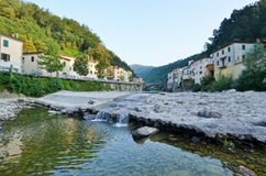 Bagni de lucca, tuscany,Italy Stock Image