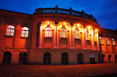 Bagni del thermal di Szechenyi Immagini Stock Libere da Diritti