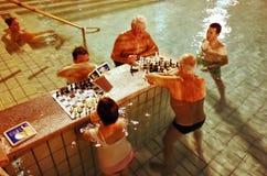 Bagni del thermal di Szechenyi fotografia stock libera da diritti