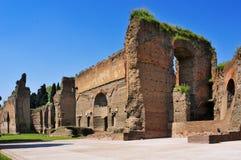 Bagni di Caracalla a Roma, Italia fotografie stock libere da diritti