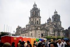Bagni portatili con l'oggetto di LGBT in Città del Messico fotografia stock