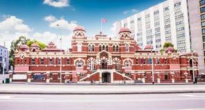 Bagni pubblici storici che costruiscono a Melbourne, Ausralia fotografia stock libera da diritti