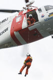 Ricerca ed elicottero di SAR di salvataggio Immagine Stock Libera da Diritti