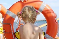 Bagnino del bambino fotografie stock libere da diritti