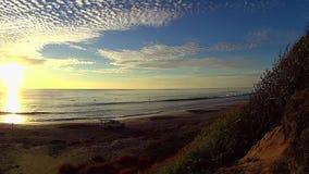 Bagnino Patroling Ponto Beach Carlsbad California video d archivio