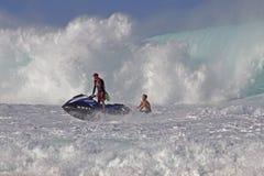 Bagnino Rescue Fotografia Stock Libera da Diritti
