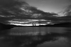 Bagno, środkowy termiczny, Cubillos Del Sil i Barcena, fotografia royalty free