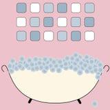 Bagno illustrazione di stock