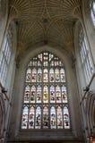 Bagno Abbey Vaulting nel bagno, Somerset, Inghilterra Fotografia Stock Libera da Diritti
