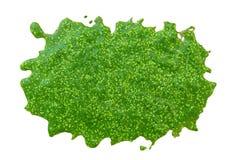 Bagno algi na białym tle Zdjęcie Stock