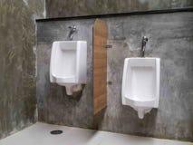 Bagno commerciale per lavare le mani Fotografia Stock Libera da Diritti