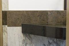 Bagno con le mattonelle di marmo fotografia stock libera da diritti