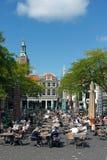 Bagno del sole di tempo del pranzo di Haag della tana Fotografie Stock Libere da Diritti