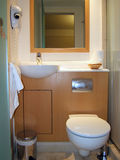 Bagno dell'hotel Fotografie Stock
