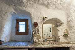 Bagno della caverna fotografia stock