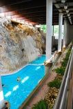 Bagno della caverna di Miskolc-Tapolca in Ungheria Immagini Stock