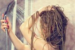Bagno della donna immagini stock
