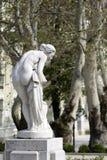Bagno della statua fotografia stock