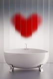 Bagno di amore Fotografie Stock